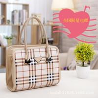 women England handbags new Korean style Plaid handbag shoulder bag diagonal handbags  ladies totes
