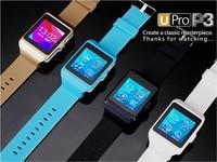 "Bluetooth Smartwatch Upro P3 1.55"" Bluetooth 3.0 Wrist Smart Watch phone U-PRO P3 Pedometer Mobile Smart Wear Touch Screen"