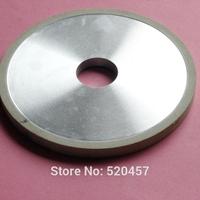 Wholesale ceramic bond diamond wheel D150 * H10 * d32 * W5 granularity 150 # concentration 150% PCD cutting tool tungsten steel