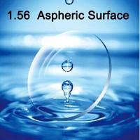 I-bright customized 1.56 index aspheric surface cr39 myopia prescription glasses lenses anti radiation optical lens 2pcs/pair