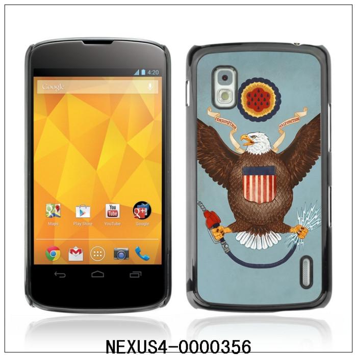 Funny USA Flag-FOR LG Google NEXUS 4 E960 Plastic Hard Back Case Cover Shell,30PCS/Lot (NEXUS4-0000356)(China (Mainland))
