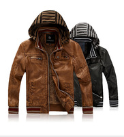New High Quality Boys Children PU Leather Jacket,Winter Warm Fur Coat For Children Boys,2 Colors,Size M-XXL,CD507,Free Shipping