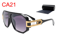 Hot new Brand Cazal 163 sunglasses women men sun glasses square frame fashion popular vogue glasses Common quality free shipping