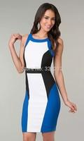 Hot sale fashion women bodycon dress back cut out novelty dress desigual vestidos femininos