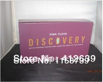 Pink floyd открытие 16 cd + книга бокс-сет новый запечатанный новый