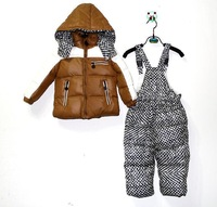 2014 winter new come! baby's sets ,kids suit,boys jacket,patchwork, coat/clothes suit/parka/outwear, fashion,thick,warm