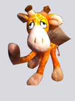 MOUSE IN THE HOUSETOYS Giraffe plush toy Movable joints Giraffe toy for  Kids Gift Free shipping
