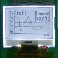 Wholesale 12864 lattice COG display Module dimensions 54 * 50mm replacement COB module