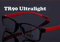 News spectacle eyeglasses  Full optical  frames eyewear tr90 ultralight memory  men women Myopia glasses oculos de sol 870