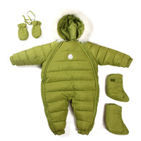 new 2014 Winter romper baby clothing infant thick down cotton coat newborn baby costume baby boy rompers baby girl warm jumpsuit