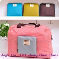 New Arrivals! Hot New Travel Bags! Fashion folding, storage bag, ladies shoulder messenger bag, shopping bag