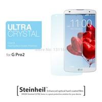 Original for LG G Pro2 Ultra Crystal Screen Protector, 100% Genuine Spigen Premium Japanese PET Film for LG Optimus G Pro 2