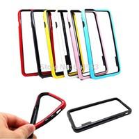 For iphone 6 Plus / iphone6Plus 5.5 Bumper Cape ,Original Design Non-Slip Frame Bumper Soft TPU Protective Case Cover