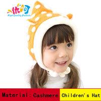 Ear Protector Cap cashmere wizard  Hats girls bomber hats Winter Beanie Children hats Cute Kids cap