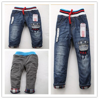 HOT!  New Zar6707a High quality  winter boys girls jeans baby trousers children jeans pants size:2/3t 3/4T 4/5T 5/6T 7/8T 9/10T