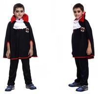 Children dress up for Halloween cosplay costume vampire costumes vampire cloak clothes dentures