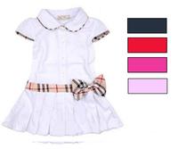 Teenage Girl Dress Princess 100%Cotton Little Girls Dresses for Kids/Children Clothing Summer Toddler Baby Infant Dress