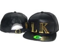Leather Last King Snapback cap for men Swag bone Hip Hop cap 5 panel cap raider LK Baseball cap women adjustable PU gorros hats
