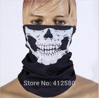 Halloween Skull Skeleton Motorcycle Headwear Hat Scarf