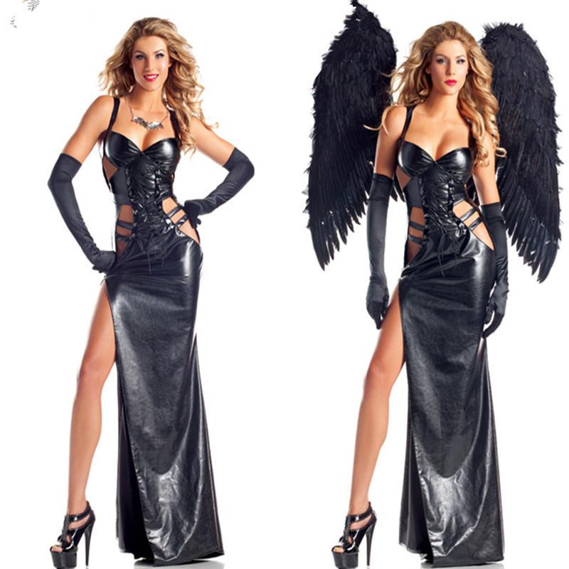 Костюм демона с крыльями