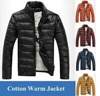 Winter Man Casual Cotton PU Leather Jacket Outdoors Men Coat Military Jackets,Jaqueta Masculina Casaco Masculino Warm Clothing