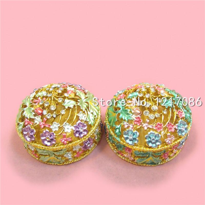 latest product wholesale european style handmade high grade flower wedding gift luxury metal craft home decoration on sale(China (Mainland))