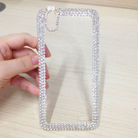 Clear Diamond Bling back Case For For Huawei Ascend G630 Shiny Free Shipping