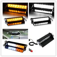 AMBER YELLOW WHITE LED STROBE FLASH WARNING EMS POLICE CAR LIGHT FLASHING FIREMEN LIGHT EMERGENCY RESCUE INDICATOR LAMP 3 MODES