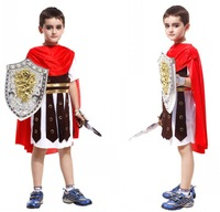 Halloween costume masquerade costumes cosplay costume armor Roman warrior prince clothes for children