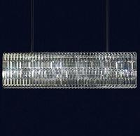Modern Crystal Chandeliers Glitterbox Horizontal Pendant