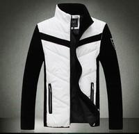 Winter mans jackets Mens fashion cotton coat Men's clothes Sleeves detachable Plus-size Trend Free shipping New 2014 L-5XL