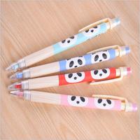 Japan  Korean stationery cute cartoon panda pencil 0.5MM HB Mechanical Pencils free shipping