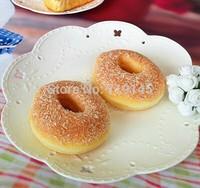 Artificial PU fake cream  doughnut bread food  Kitchen restaurant decorated DIY wedding festival props toy