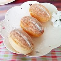 Artificial PU fake cream bread food  Kitchen restaurant decorated DIY wedding festival props toy