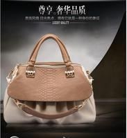 brand 2014 korea style vintage women's shoulder bag fashon patchwork messenger bag for women