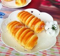 Artificial PU fake cream  the caterpillar bread bread food  Kitchen restaurant decorated DIY wedding festival props toy