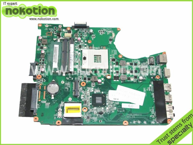 DA0BLBMB6F0 For Toshiba Satellite L755 Laptop Motherboard Intel hm65 ddr3 Socket pga989 A000080670 REV F0(China (Mainland))