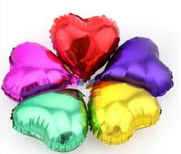 2014 Free Shipping 5 colors cheap colorful heart ballon