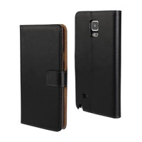 New Luxury leather Wallet flip case for Samsung Galaxy Note 4 N910 9 colors for choose