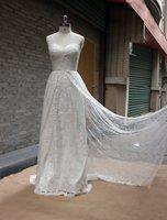 2015 New Design Vintage Sexy Full Lace Bridal Gown berta wedding dress vestido de noiva