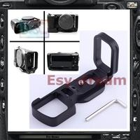 Pro Vertical L Type Bracket Tripod Quick Release Plate Base Handle Grip For Sony Nex5 NEX-5 NEX5N NEX-5N Camera PT140