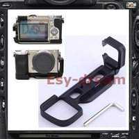 Pro Vertical L Type Bracket Tripod Quick Release Plate Base Handle Grip For Sony A6000 ILCE-6000 Camera PT142