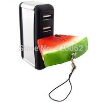 pen drive silicone watermelon strawberry 64gb/32gb bulk fruit usb drive pendrive usb flash drive memory stick gift free shipping