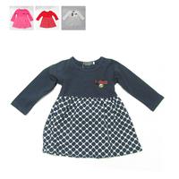 Fashion letter baby clothes girls spring autumn 2014 new ragazza dress children Princess dress cotton Dress 2-6 year