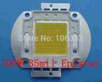Best Price 100W high Power LED 35mil Epistar Chip 10*10 8000-9000lm 30-36V 3000-3500mA 5pcs/lot