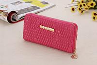 Fashion Women Wallets Dull Polish Leather Wallet women Zipper Day Clutch Purse Wristlet Portefeuille Handbags Carteira Feminina