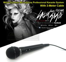 Professional Plastic Wired Handheld Cardioid Vocal Dynamic Microphone KTV Karaoke Computer DJ Microphone Mic 5 Year