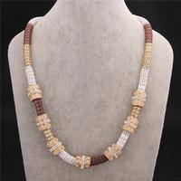 New Fashion Jewelry Brand Luxury Bohemia Jewellery  Women Tribal Ethnic Statement Necklace VFN159