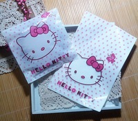 95pcs/lot packaging hello kitty  Plastic bags,13x20cm pouches wrappers cupcake  Free shipping