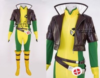 X-men X men Rogue Cosplay costume anime any size FULL SET custom made Fantasy
